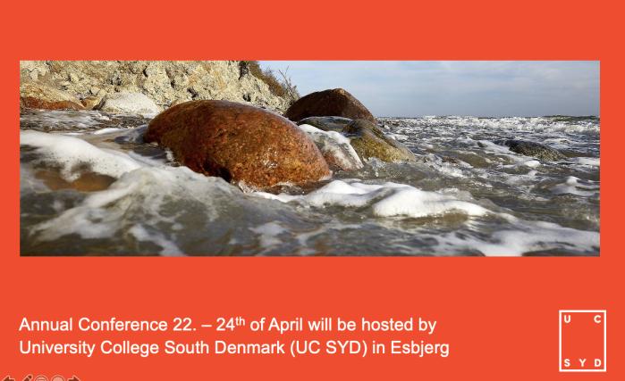Invitation Esbjerg 2021